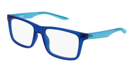 Puma Junior Kids Eyeglasses PJ0029O-003 Blue/Light Blue