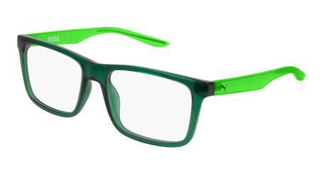 Puma Junior Kids Eyeglasses PJ0029O-004 Green/Green