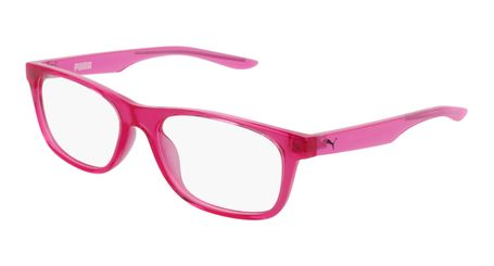 Puma Junior Kids Eyeglasses PJ0030O-002 Red/Pink