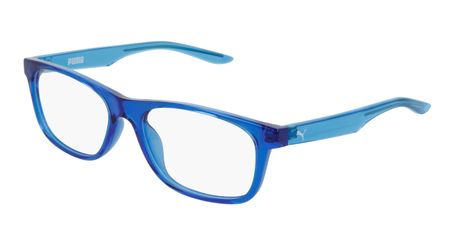 Puma Junior Kids Eyeglasses PJ0030O-003 Blue/Light Blue