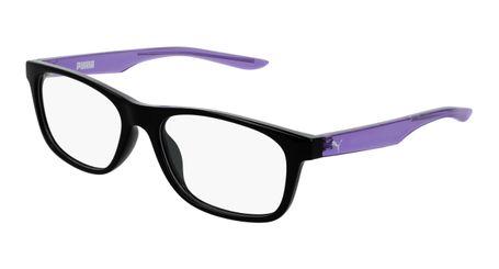 Puma Junior Kids Eyeglasses PJ0030O-004 Black/Violet