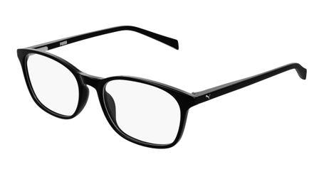 Puma Junior Kids Eyeglasses PJ0031O-001 Black/Black
