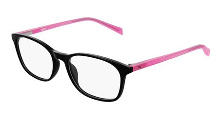 Puma Junior Kids Eyeglasses PJ0031O-002 Black/Pink