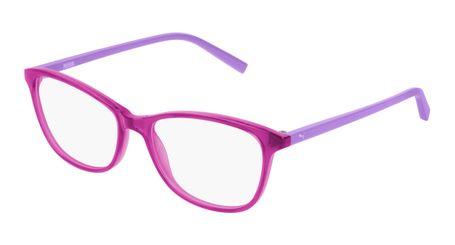 Puma Junior Kids Eyeglasses PJ0033O-002 Pink/Violet