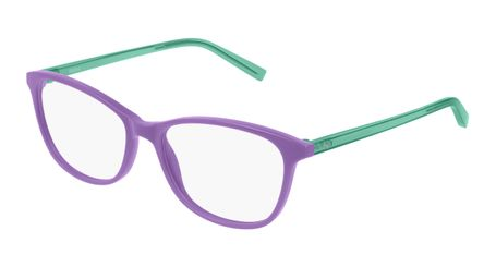 Puma Junior Kids Eyeglasses PJ0033O-004 Violet/Green