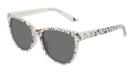 Stella McCartney Kids Sunglasses SK0038S-007 Multi/Grey Lenses