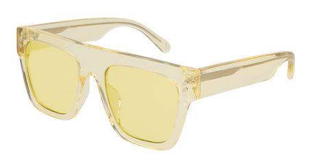 Stella McCartney Kids Sunglasses SK0040S-002 Crystal Yellow/Yellow Lenses