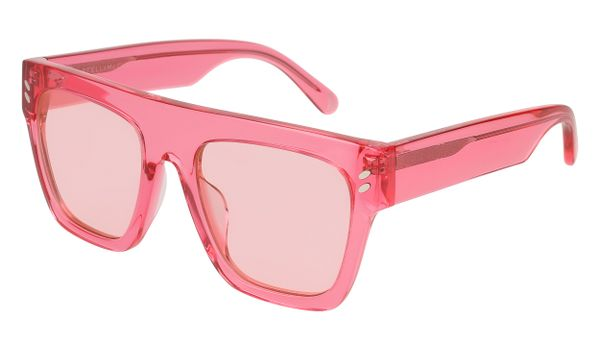 Stella McCartney Kids Sunglasses SK0040S-003 Crystal Pink/Pink Lenses