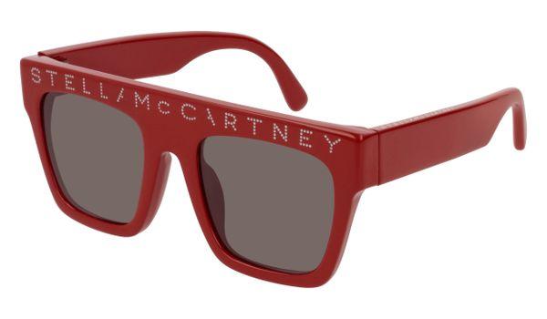 Stella McCartney Kids Sunglasses SK0048S-003 Red/Brown Lenses