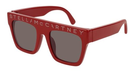Stella McCartney Kids Sunglasses SK0048S-003 Red/Brown Lenses