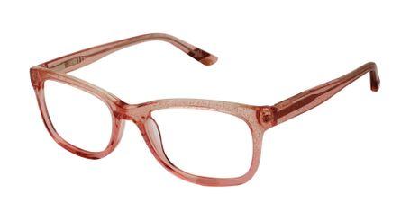 gx by Gwen Stefani Juniors GX807 Kids Glasses Blush Glitter BLS