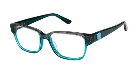 gx by Gwen Stefani Juniors GX809 Kids Glasses Teal Glitter TEA