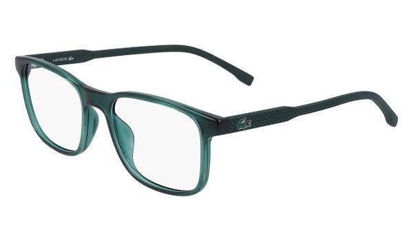 Lacoste L3633-315 Kids Eyeglasses Shiny Green