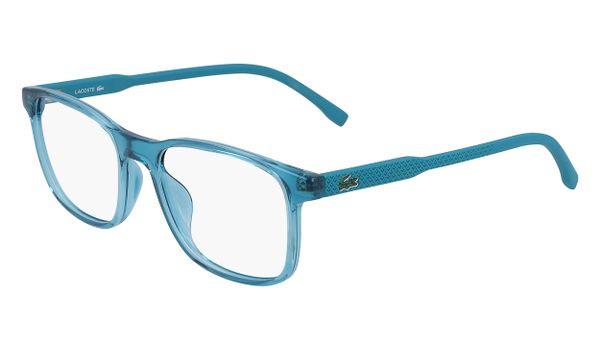 Lacoste L3633-467 Kids Eyeglasses Shiny Aquamarine