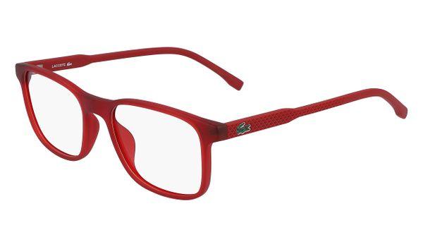 Lacoste L3633-615 Kids Eyeglasses Matte Red