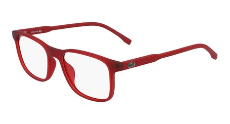 Lacoste L3633-615 Kids Eyeglasses Matte Red