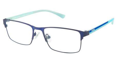 Crocs JR077 Kids Eyeglasses 50BE Blue/Aqua