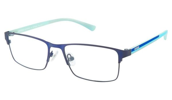 Crocs JR077 Kids Eyeglasses 50BE Blue/Aqua