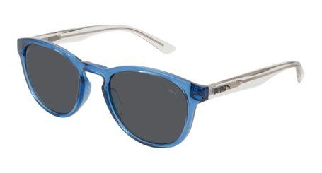 Puma Junior Kids Sunglasses PJ0024S-007 Blue/Smoke Lenses