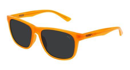 Puma Junior Kids Sunglasses PJ0025S-008 Orange/Smoke Lenses