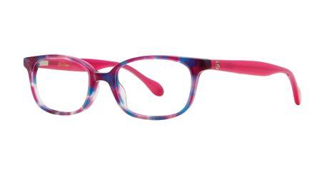 Lilly Pulitzer Hennie Girls Eyeglasses Party Pink