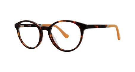 Kensie Girl Fly Eyeglasses Dark Tortoise