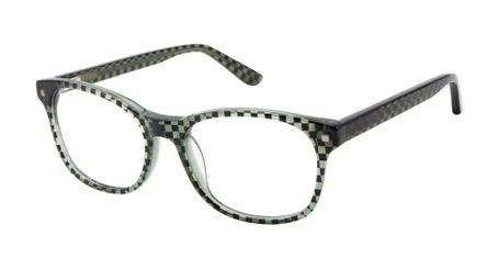 ZUMA ROCK ZR006 Boys Glasses OLI Olive/Black Checkered Print