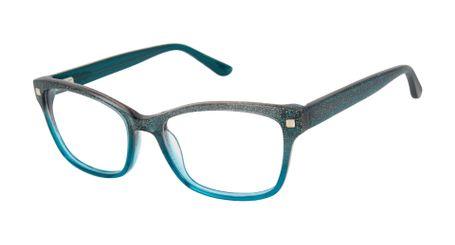 gx by Gwen Stefani Juniors GX813  Kids Glasses Teal Glitter TEA