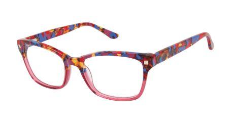 gx by Gwen Stefani Juniors GX813  Kids Glasses Raspberry Tortoise Crystal RAS