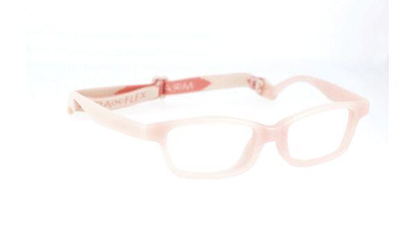 Miraflex Mayan 42 Kids Eyeglasses Clear Pink-BC