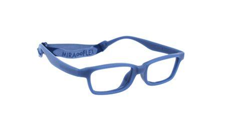 Miraflex Mayan 42 Kids Eyeglasses Dark Blue-D