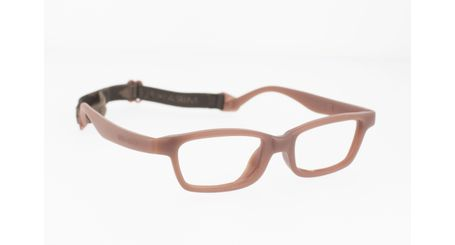 Miraflex Mayan 42 Kids Eyeglasses Milk Chocolate-M