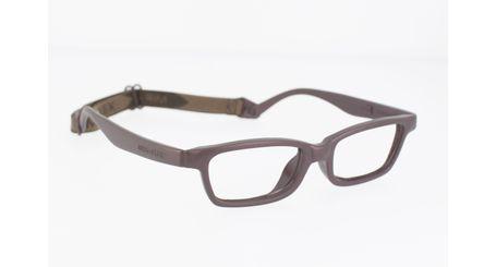 Miraflex Mayan 42 Kids Eyeglasses Dark Brown-MM