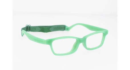 Miraflex Mayan 42 Kids Eyeglasses Green-VC