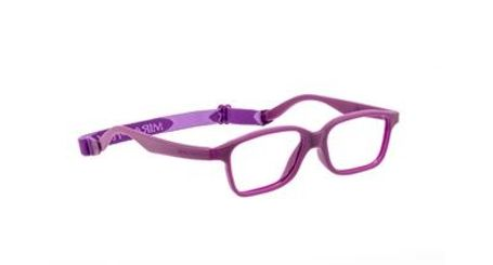 Miraflex Mayan 47 Kids Eyeglasses Plum-P