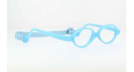 Miraflex Baby One 37 Baby Glasses Light Blue-E