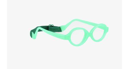 Miraflex Baby Zero2 Baby Eyeglasses Clear Green Pearl-VCP