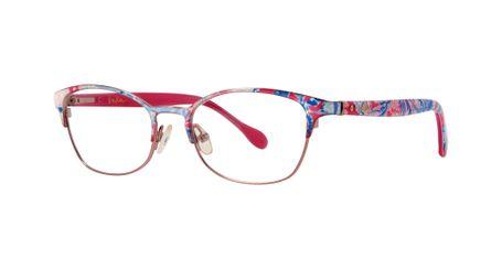 Lilly Pulitzer Bailor Girls Eyeglasses Pink