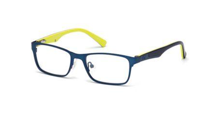 Guess Kids GU9173 Boys Eyeglasses Matte Blue 091