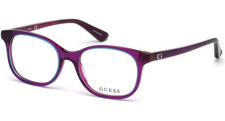 Guess Kids GU9176 Eyeglasses Shiny Violet 081