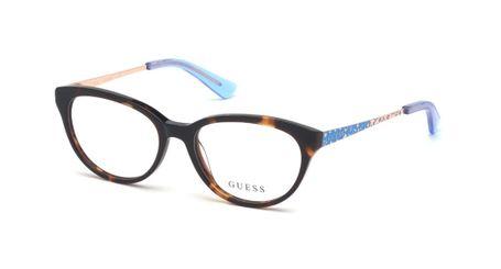 Guess Kids GU9185 Girls Eyeglasses Dark Havana 052