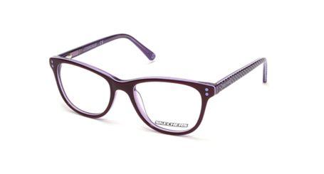 Skechers SE1631 Kids Glasses Shiny Violet 081