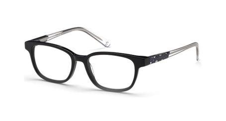Skechers SE1639 Kids Glasses Shiny Black 001