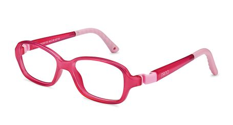 Nano NAO50052H Replay Kids Eyeglasses Crystal Pink/Pink Eye Size 42-15 (2-4 Years)