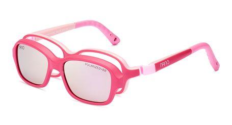 Nano NAO50070HSC Replay Kids Eyeglasses Matte Dark Pink/Pink Eye Size 42-15 (2-4 Years)