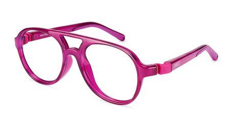 Nano Gran Turismo Kids Eyeglasses Crystal Raspberry/Raspberry