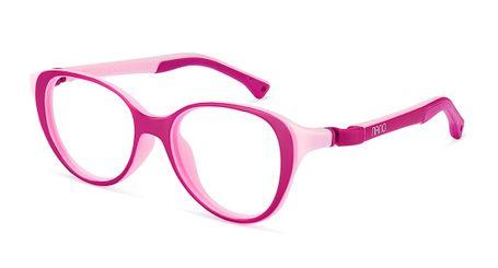 Nano Mimi Girls Eyeglasses Matte Raspberry/Pink