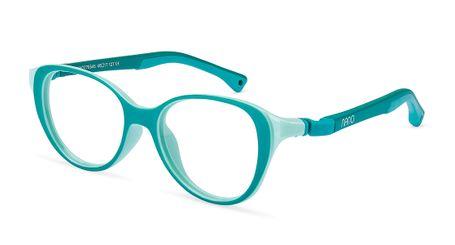 Nano Mimi Girls Eyeglasses Matte Turquoise/Mint