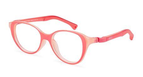 Nano Mimi Girls Eyeglasses Crystal Coral/Peach