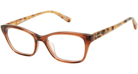 Juicy Kids Eyeglasses JU938 0YL3 Brown Crystal